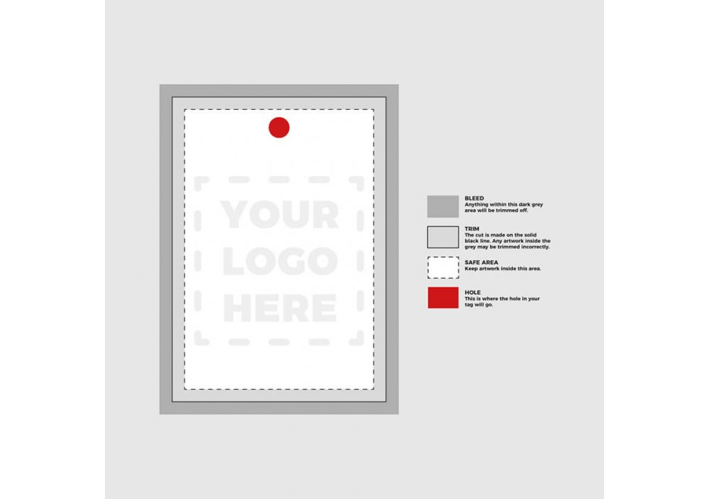 Swing Tag Template